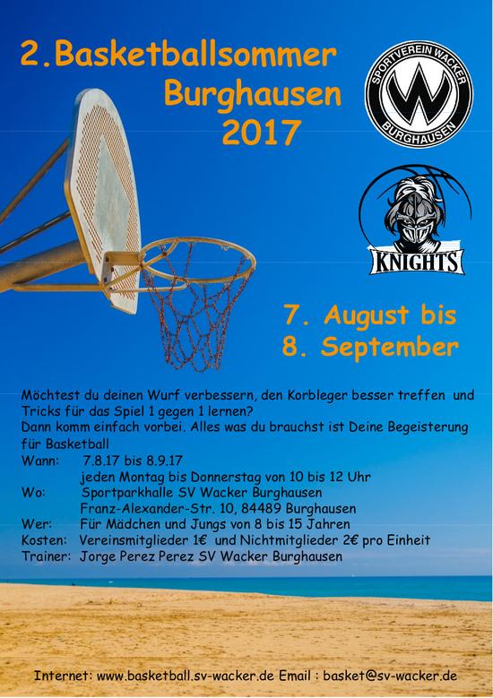 sports shoes f10df 05c33 2 Basketballsommer Burghausen 2017
